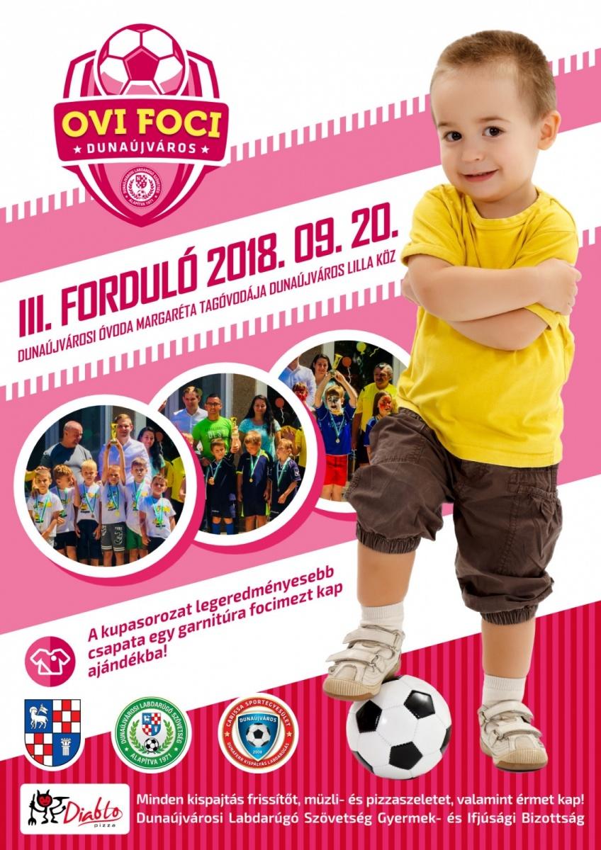 3. forduló Ovi Foci Kupa Dunaújvárosban