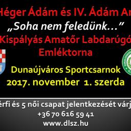 V. Héger Ádám és IV. Ádám Anita Kispályás Emléktorna