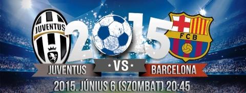 BL döntő 2015 Juventus - Barcelona