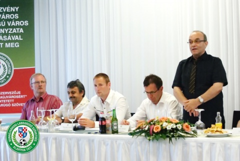 Díjátadó Ünnepség Dunaújváros 2015
