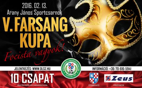 V. Farsang Foci Kupa Dunaújvárosban