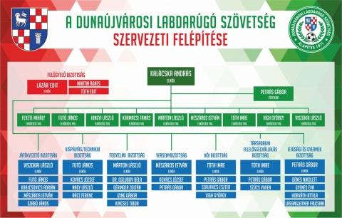 DLSZ szervezeti felépítés 2019
