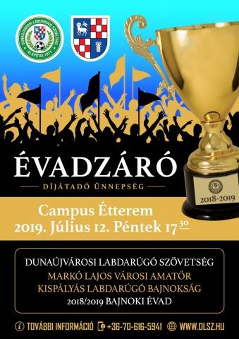 DLSZ Évadzáró Díjátadó Ünnepség 2019