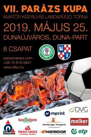 Dunaújváros 2019 VII. Parázs Varázs Kispályás Labdarúgó Kupa