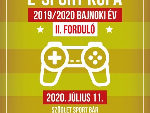 Duna FIFA E-Sport Bajnokság 2019/2020 Bajnoki év 2. forduló