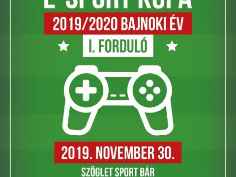 Duna FIFA E-Sport Bajnokság 2019/2020 Bajnoki év 1. forduló