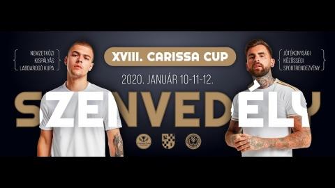 """Embedded thumbnail for XVIII. Carissa Kupa """"KÖZÖS SZENVEDÉLY"""""""