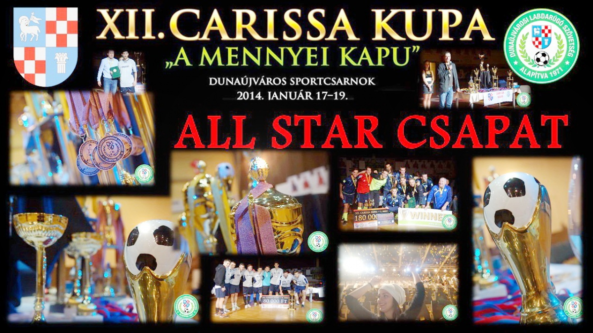 Carissa Kupa All Stars 2014