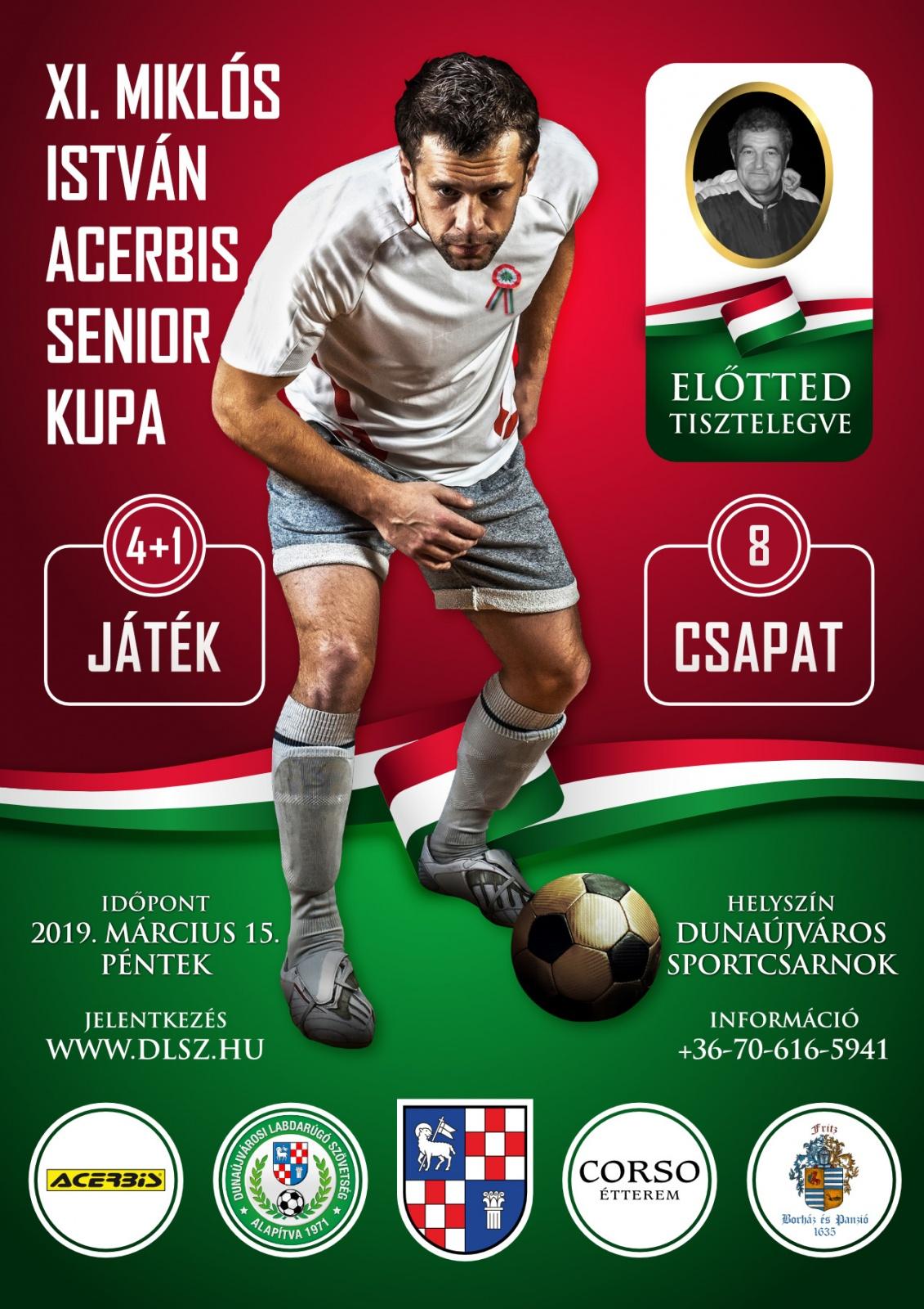 XI. Miklós István Acerbis Senior Foci Kupa | Dunaújvárosi ...