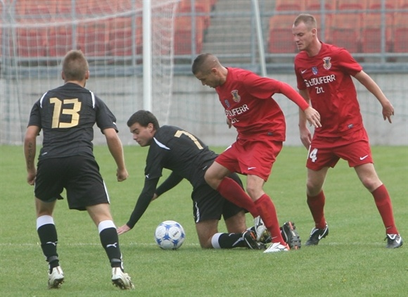 Dunaújváros PASE bajnoki mérkőzés