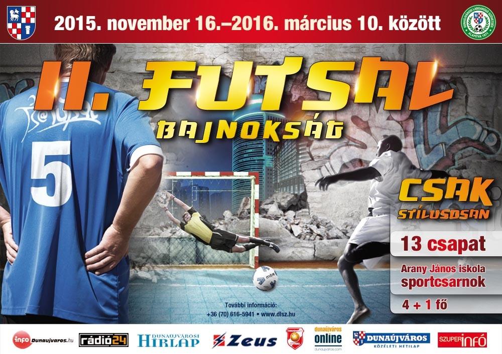 Futsal Bajnokság Dunaújvárosban 3eab327a2b