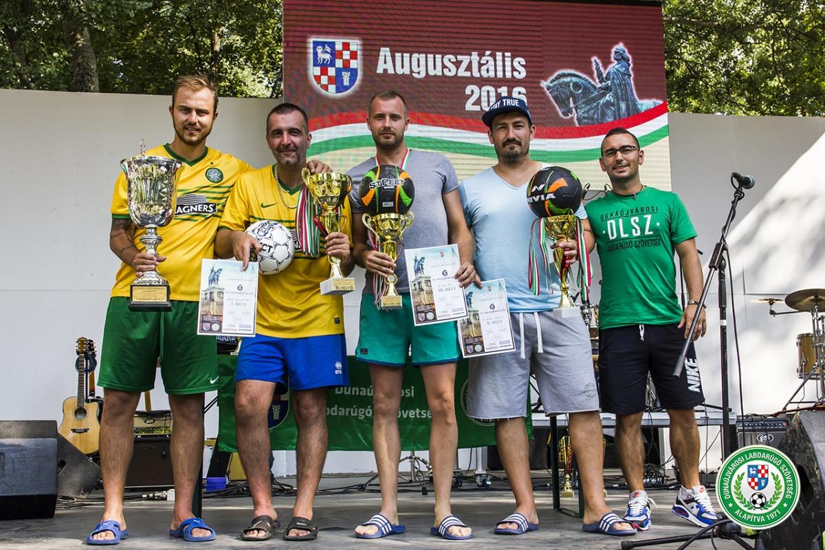 Strandfoci Kupa győztesei