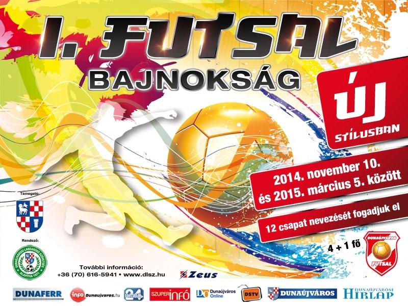 I. Dunaújvárosi Futsal Bajnokság 2014