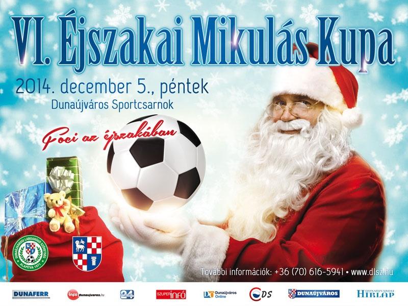 VI. Éjszakai Mikulás Foci Kupa 2014