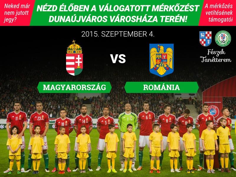 Magyarország - Románia selejtező