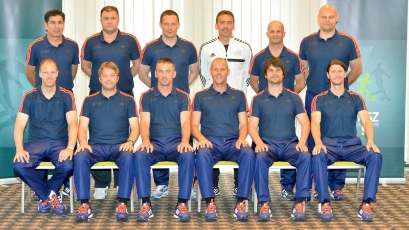 Dobos Barna és Sárai György UEFA Pro-licences edzők lettek!
