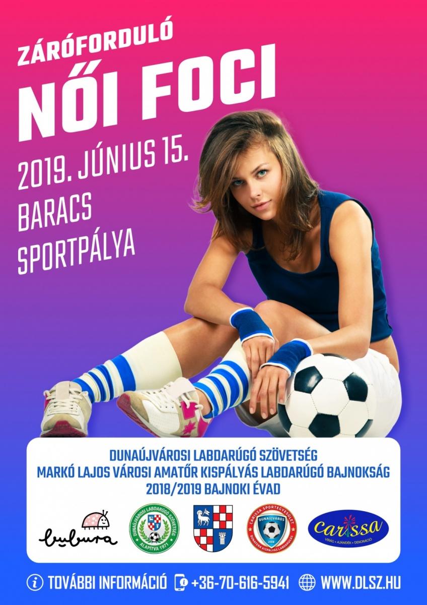 Női foci Dunaújvárosban
