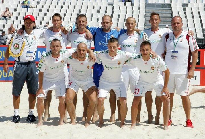 Magyar Strandlabda Válogatott Moszkva 2012