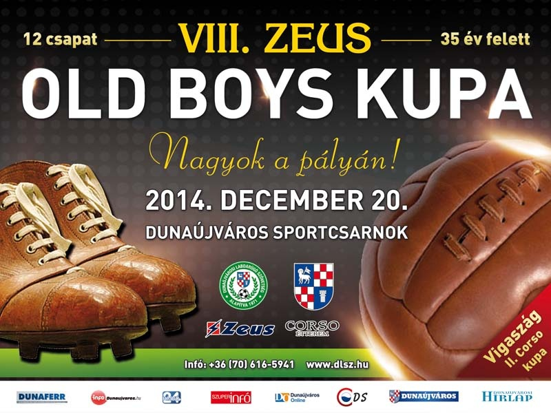 VIII. Zeus Old Boy Foci Kupa Dunaújváros