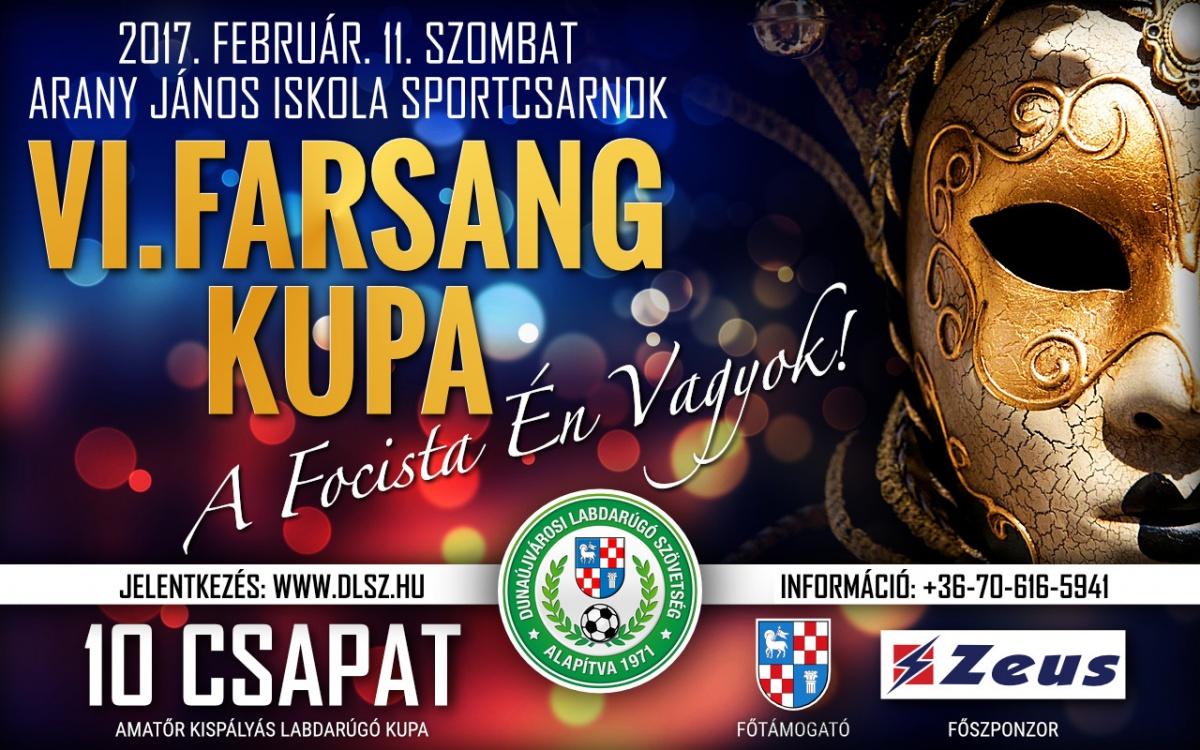 VI. Farsang Foci Kupa Dunaújváros