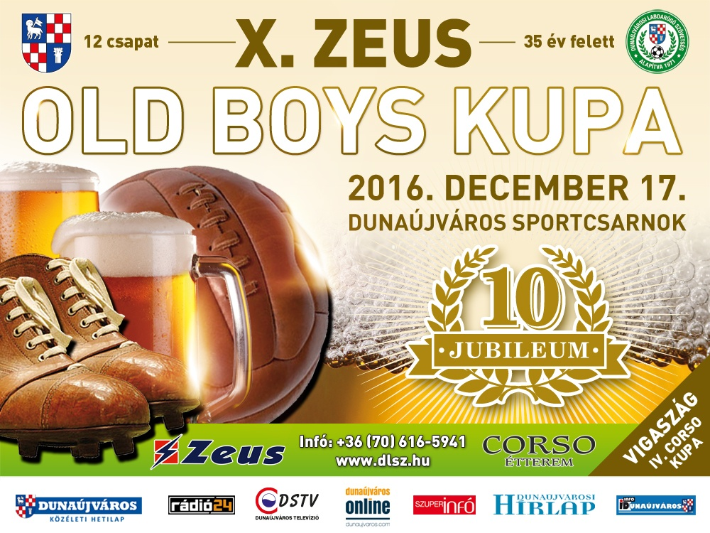 X. Zeus Old Boys Kupa