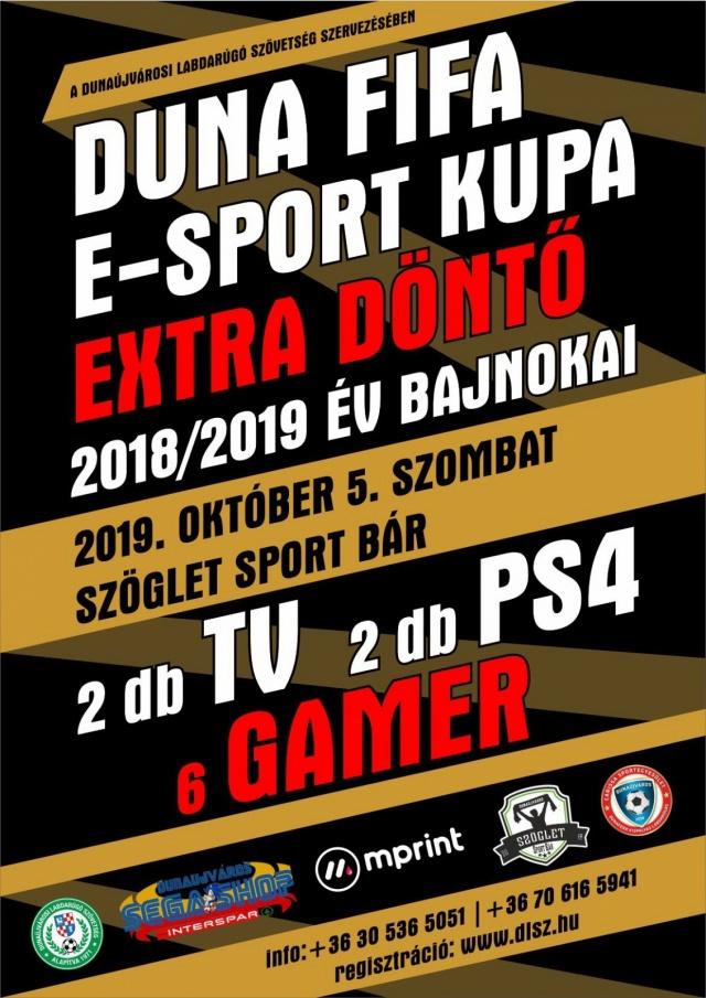 Duna FIFA E-Sport Kupa Extra Döntő