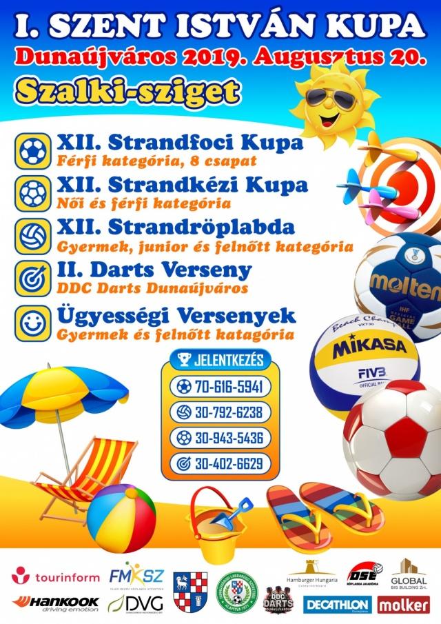 Strandfoci Kupa Dunaújváros - Szalki sziget