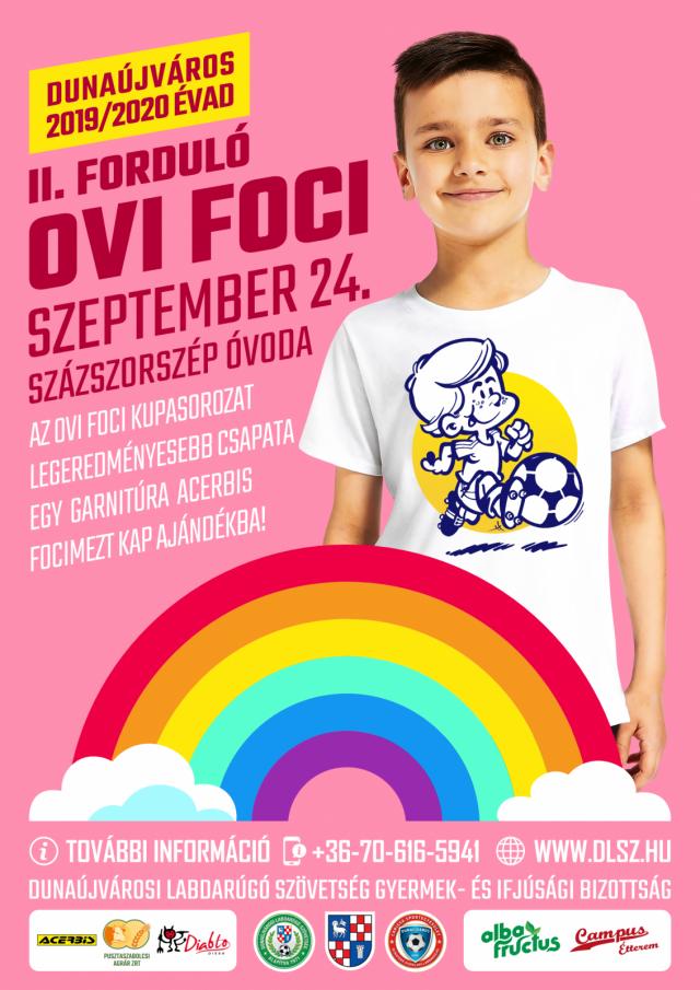 Dunaújvárosi Ovi Foci Kupa 2019/2020 - II. Forduló