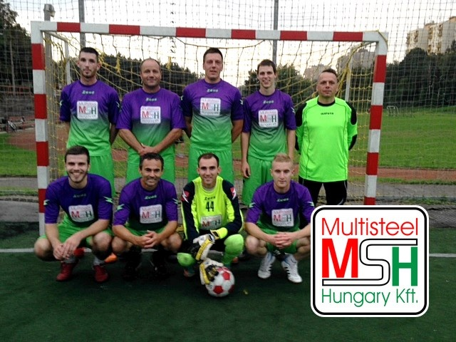 Multisteel Hungary kispályás foci csapat 2014