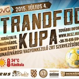 Strandfoci Kupa 2015
