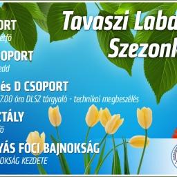 Tavaszi Foci Bajnokság Szezonkezdés Dunaújvárosban