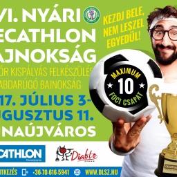 VI. Decathlon Nyári Kispályás Bajnokság