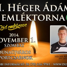 Héger Ádám Emléktorna 2014