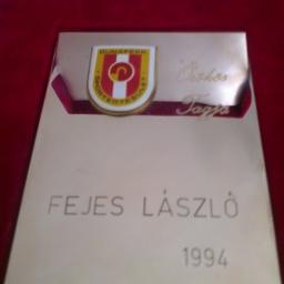 unaferr Sportegyesület elnöksége 1994-ben a klub örökös tagja cím