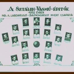 dunaújvárosi Sztálin Vasmű Építők