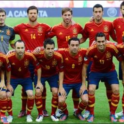 Spanyolország Labdarúgó EB 2012 Elődöntőse