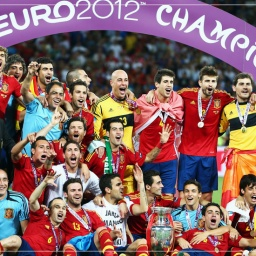 Labdarúgó Európa Bajnokság 2012 Győztese Spanyolország 4 - 0 Olaszország