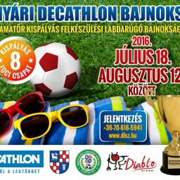 V. Decathlon Nyári Kispályás Foci Bajnokság