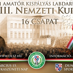 III. Nemzeti Foci Kupa poszter