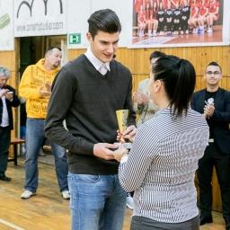 Katona Ádám - II. futsal bajnokság legjobb játékosa