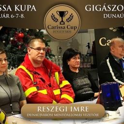 Embedded thumbnail for Idén a mentőállomásnak gyűjtünk! - XV. Carissa Kupa Sajtótájékoztató