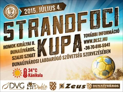 Strandfoci Kupa - A Homok Királyai II. rész