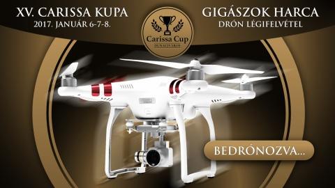 Drón légifelvételek a Carissa Foci Kupáról