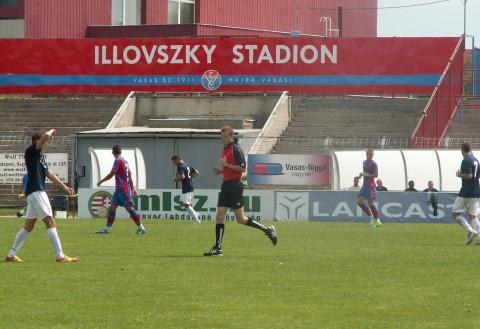 DPASE - VASAS edzőmérkőzés 2012