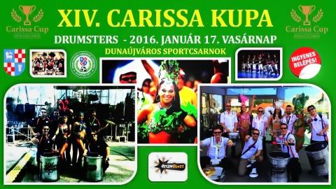 DRuMSTeRS, az ütős show a Carissa kupán