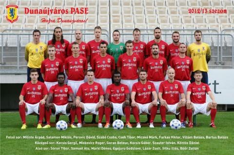 Dunaújváros Labdarúgó csapata DPASE 2012
