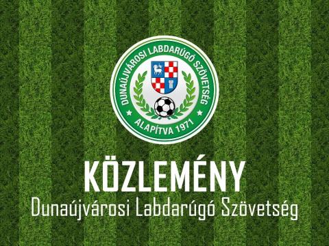 Fair Play - Dunaújvárosi Labdarúgó Szövetség közleménye