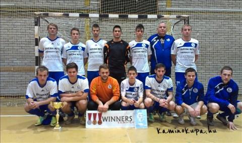 Erste Kupa Dunaújváros 2012 Csövesek 1. hely