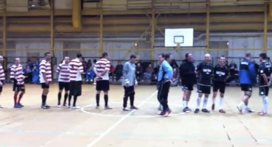 Gari Trans vs Háromkirályok foci kupa döntő Dunaújváros