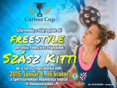 Szász Kitti Carissa Kupa 2015